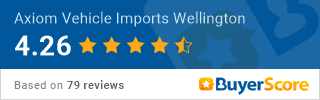 Axiom Vehicle Imports BuyerScore Rating