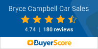 Bryce Campbell Car Sales BuyerScore Rating